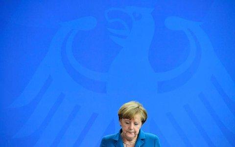 Kanzlerin Angela Merkel. AFP PHOTO / TOBIAS SCHWARZ