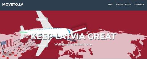 Screenshot: www.moveto.lv