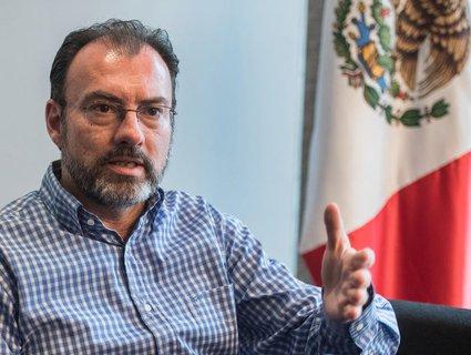 Der mexikanische Außenminister Luis Videgaray. (Foto: dpa/ Andreas Anton)