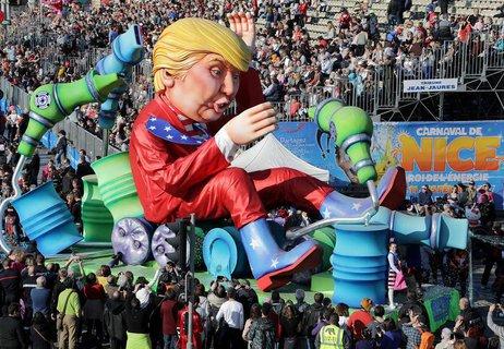 Karneval in Nizza. (Foto: Reuters/Eric Gaillard)