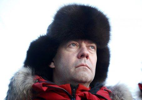 Russlands Premierminister Dmitri Medwedew. (Foto: Reuters)