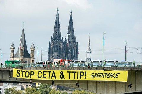 Proteste auch in Köln