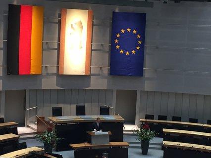 Michael Müller bei der Gedenkstunde im Abgeordnetenhaus
