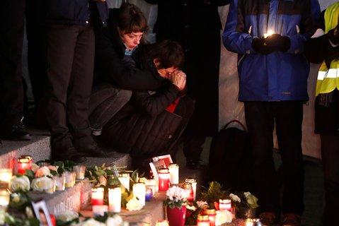 Berlin gedenkt der Opfer am Breitscheidplatz.