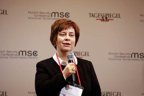 Gabi Dreo Rodosek, Leiterin von CODE, dem Informatik-Institut der Bundeswehr-Universität