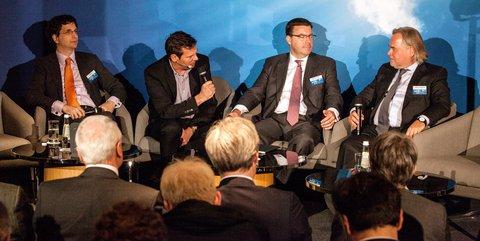 Jeff Moss, Gregor Schmitz, Mark Gould und  Eugene Kaspersky