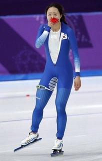 Sang-Hwa Lee weint nicht vor Glück.