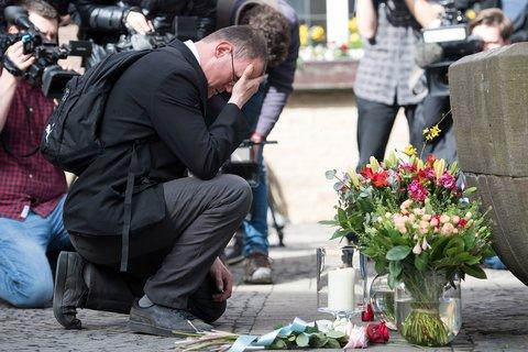 Gedenken an die Opfer in Münster