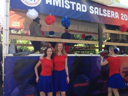 Diana Seeger und eine Mittänzerin von Amistad Salsera 2018