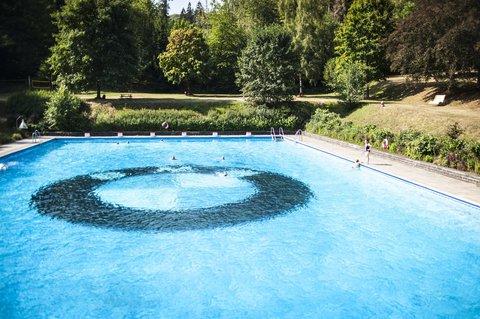 Das Waldschwimmbad Holzhausen