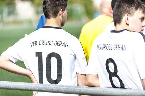 Die A-Junioren des VfR Groß-Gerau II