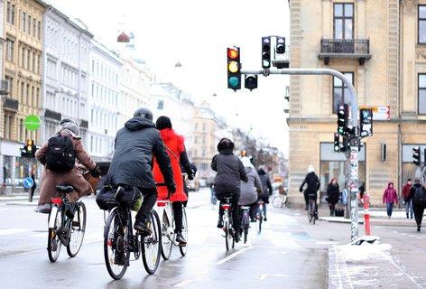 Ein Gefühl von Sicherheit. Unterwegs auf Radwegen in Kopenhagen.