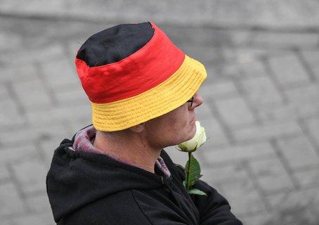 Hutbürger bei rechter Demo in Chemnitz