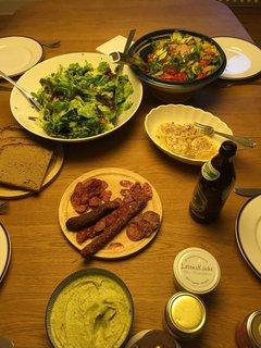 Abendessen bei Nikki und Rüdi