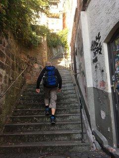 Marburg will erklommen sein