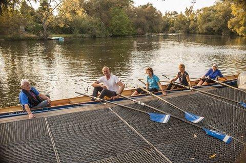 Im Boot beim WSV Hellas Gießen