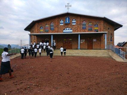 Gottesdienst als Teil des Schulprogramms.