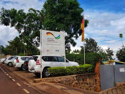 Deutsche Entwicklungszusammenarbeit in Ruanda.
