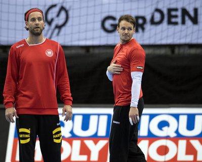 Silvio Heinevetter (links) und Kai Häfner
