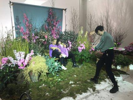 Blumen für die Frühlingslooks.