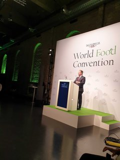 David Beasley auf der World Food Convention