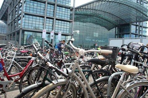 So am besten nicht. Der Europaplatz am Berliner Hauptbahnhof.