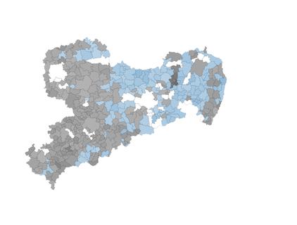 So haben Sachsens Gemeinden gewählt