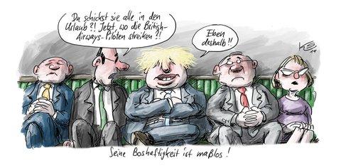 Boris Johnson zieht alle Register