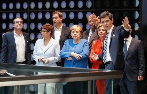 Alexander Dobrindt und die Koalitionsspitzen von CDU, CSU und SPD.