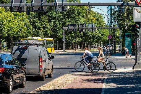 Wären ebenfalls interessant gewesen: Die Berliner Kreuzungen wurden im ADAC-Test nicht untersucht.