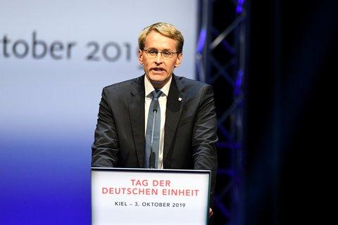 Ministerpräsident Daniel Günther.