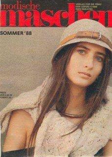 Anja Kossiwakis auf dem Cover der DDR-Zeitschrift