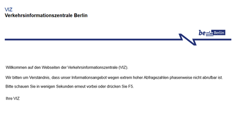 Zwischenzeitlich legt die Bauerndemo sogar die Webseite der Verkehrsinformationszentrale Berlin lahm.
