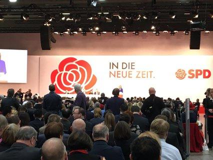 Malu Dreyer eröffnet den SPD-Parteitag