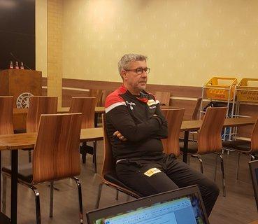 Trainer Urs Fischer.