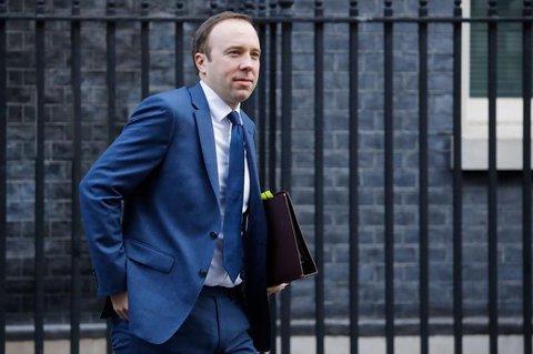 Der britische Gesundheitsminister Matt Hancock.