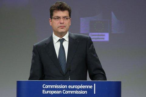 EU-Katastrophenschutz-Kommissar Janez Lenarcic.
