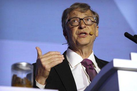 Bill Gates bei der weltgrößten Wissenschaftskonferenz.
