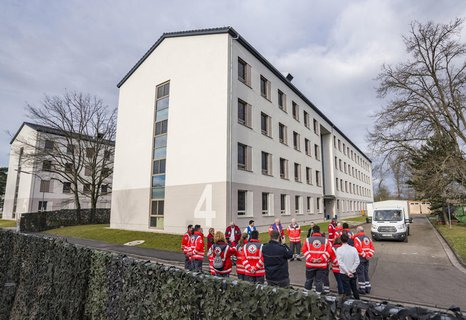 Die Kaserne Südpfalz der Bundeswehr