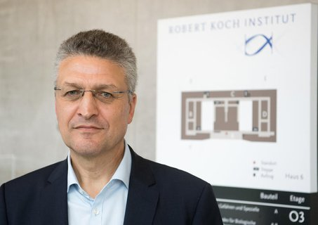 Der Präsident des Robert-Koch-Instituts: Lother Wieler.