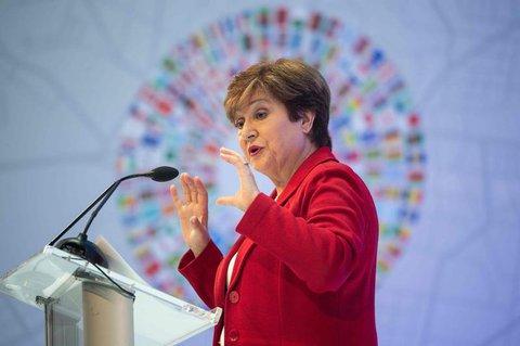 IWF-Chefin Kristalina Georgiewa.