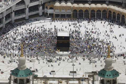 Vorübergehend für Ausländer geschlossen: die Stadt Mekka in Saudi-Arabien