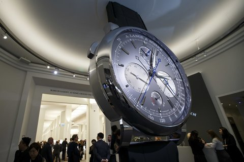 Wird abgesagt: die Uhrenmesse in Genf