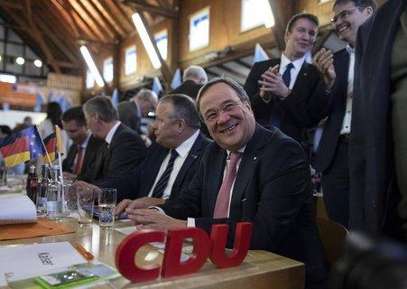 NRW-Ministerpräsident Armin Laschet beim politischen Aschermittwoch.