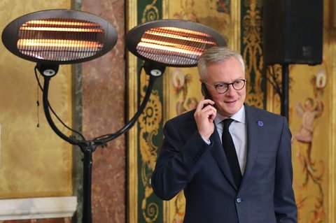 Wirtschafts- und Finanzminister Bruno Le Maire