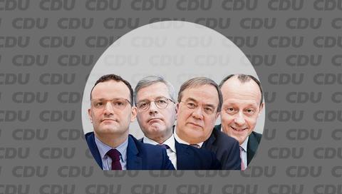 Die Kandidaten für den CDU-Vorsitz