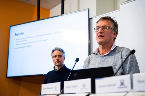 Der Staatsepidemiologe Anders Tegnell.