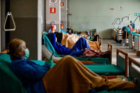 Die Lage in den Krankenhäusern ist
