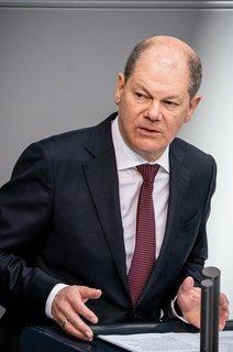 Vizekanzler Olaf Scholz (SPD)
