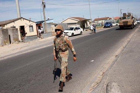 Südafrika steht unter einer 21-tägigen Ausgangssperre.